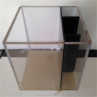 Shenzhen Tobest Display direct selling high quality plastic aquarium tank