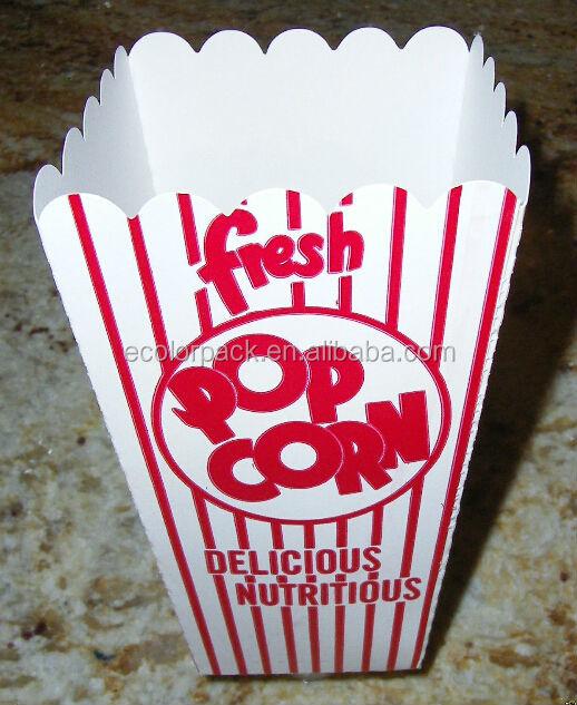 Popcorn Boxes For Sale Paper Popcorn Box Popcorn Box Size - Buy ...