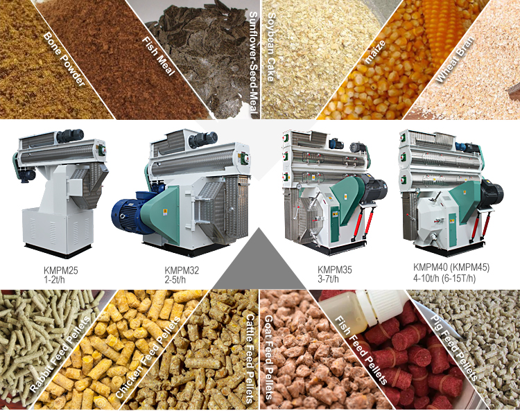 5 ton per hour turnkey automatic chicken cattle poultry animal feed processing plant
