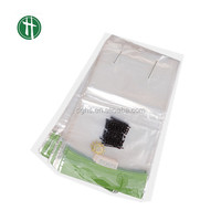 100% Compostable Plastic Wicket Bag for Bread Packaging with Cardboard