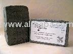 Whipped Charcoal Lemongrass and Patchouli Facial Soap
