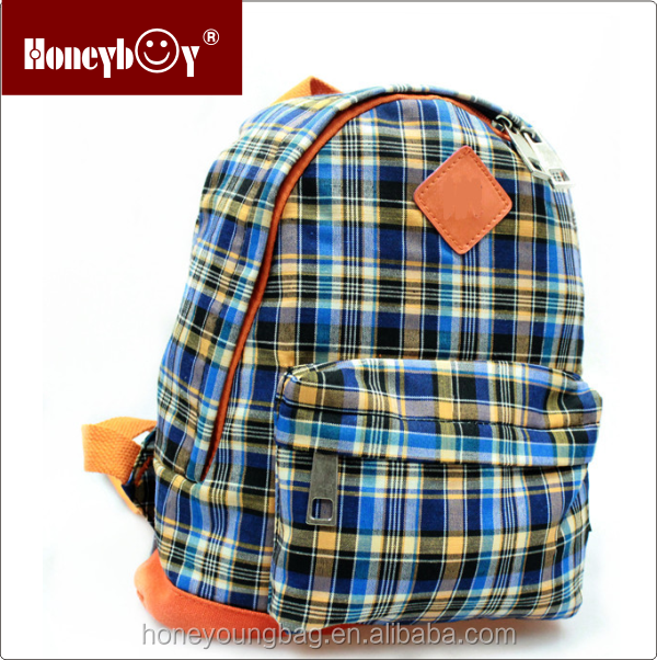 factory promotion canvas cheap kids bag backpack for school