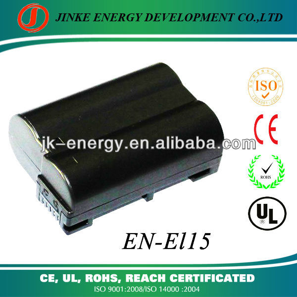 digital camera battery pack en-el15 for Nikon