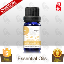 Bulk 100% Pure and Organic Orange Essential Oil 10ml,Undiluted,Therapeutic Grade Aromatherapy Product,Private Label