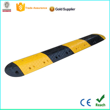 Best Quality 500*350*50mm factory rubber speed bump,rubber road speed breaker