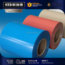 PPGI Coils Color Coated Steel Coil RAL9002 White Prepainted Galvanized Steel Coil Z275 or Metal Roofing
