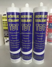 Paintable Acrylic Mastic Silicone Sealant