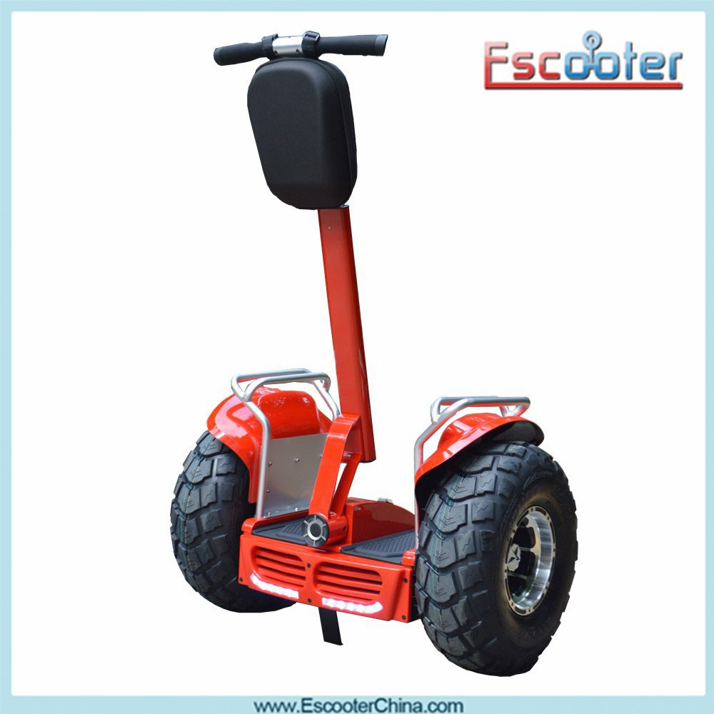 2015 new design 4000W adults stand up off road two wheels self balance gyro scooter electric chariot