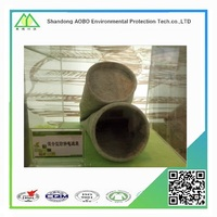 terylene/polyester needle felt cement dust collector filter bag for house dust filter