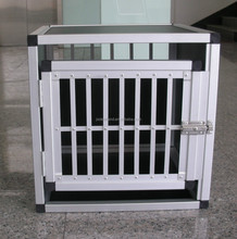 FACTORY SUPPLY foldable easy to assemble aluminum dog cage