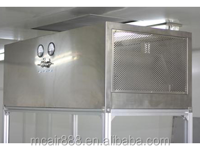 The hanging laminar flow hood