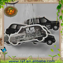 paper cardboard low price fragrance paper, hanging paper car air freshener, automatic air freshener