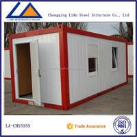 Modern Prefabricated Living Container Home 1 Bedroom Mobile Homes Price
