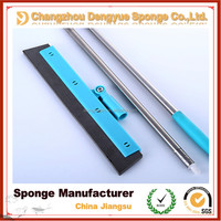 Garage floor used Foam cleaning brush head replaceable abrasion resistance foam rubber squeegee