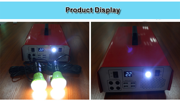 500w 110v 220v 230v ups solar energy inverter generator for indoor outdoor use