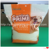 Hot sale fda laminated ziplock bags for pet food
