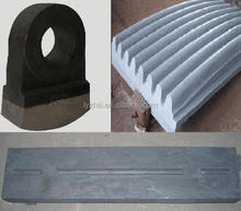 ore mining crusher wear parts cast iron foundry