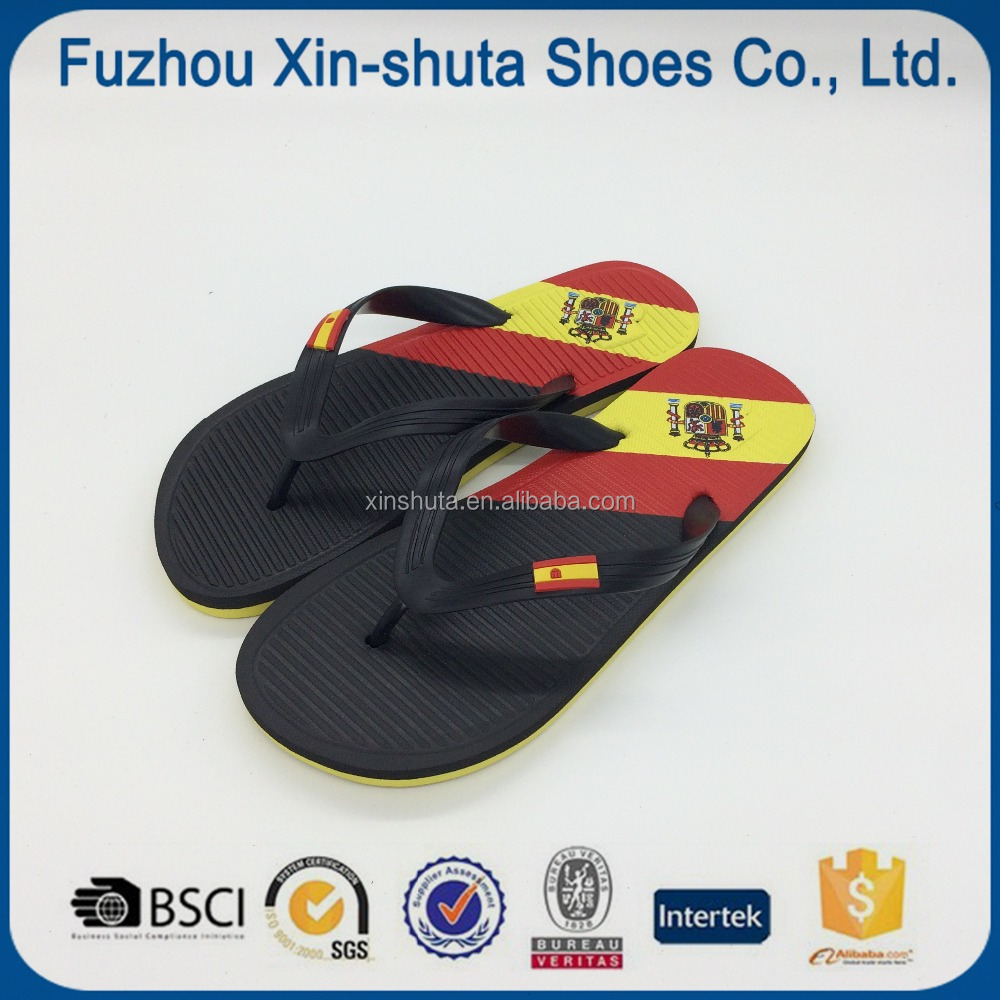 Fashion national flag flip flop slipper