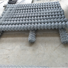 used pvc coated chain link fence panels