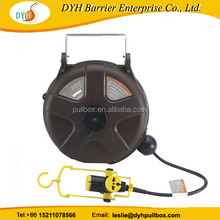 Plastic one way industrial self-retracting cable reel