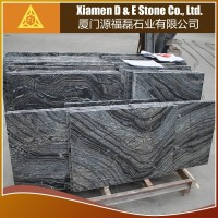 Professional Zebra Tree Black Forest Wood Vein Marble Stone Floor Wall Tiles