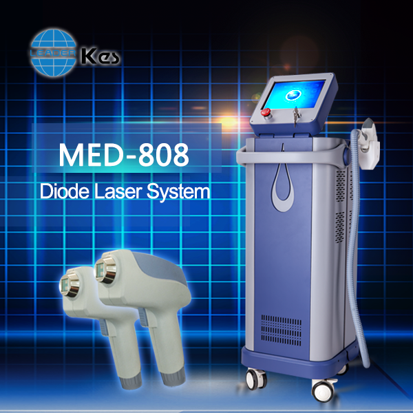 Newest 808 machine diode laser permanent hair loss treatment