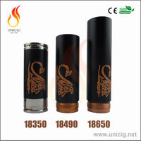 2014 new full mechanical mod black stingray mod