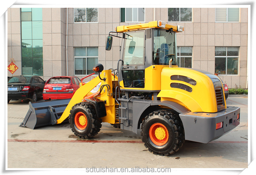 2 tons small garden and farm front end wheel loader ,mini tractor well made with competetive price for sale