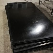 Industrial Extruded EPDM vulcanized rubber sheet with black color