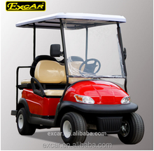 2+2 seat off road used electric golf cart