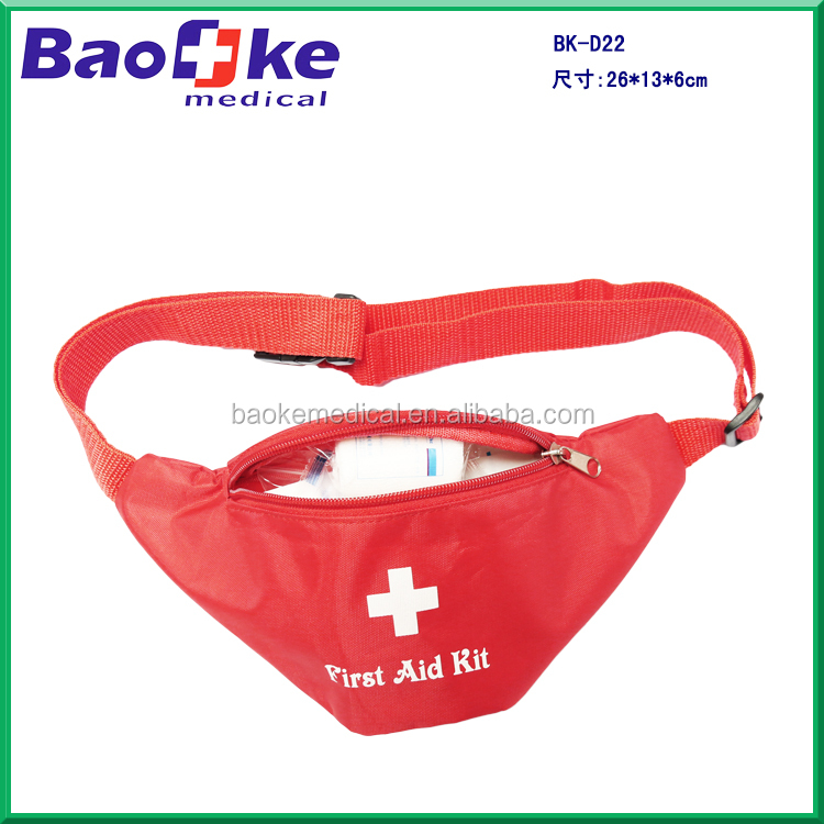 Small Erste Hilfe Produkte waist bag first aid bags for Hiking, camping, sports bike travel
