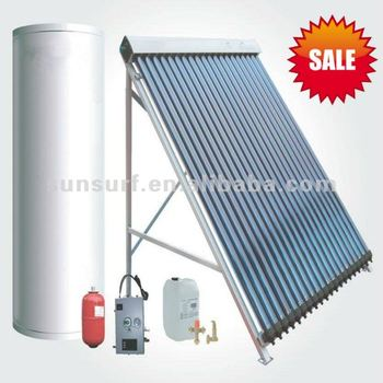 SunSurf ISO CE SRCC Keymark energy saving solar water heater