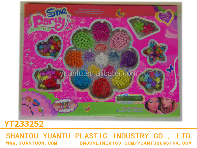 Educatinal kids comestic toy girls hair beauty set toys