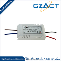 Rainproof 12w 0.5ma indoor led driver 24v