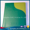 school custom leatherette paper notebook with hangbag