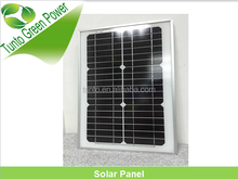price per watt Grass A mono silicon 15W small solar panel for LED bulb