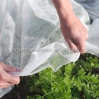 polypropylene nonwoven plant protection blankets/garden anti frost warming fleece/plant blankets