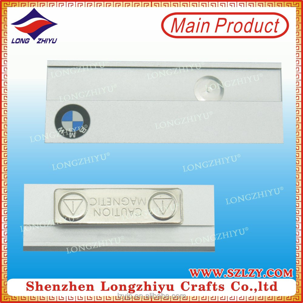 Wholesale Metal Famous Brand Logo Name Tag