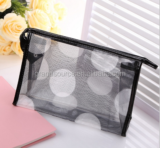 PVC travel cosmetic bag for lady