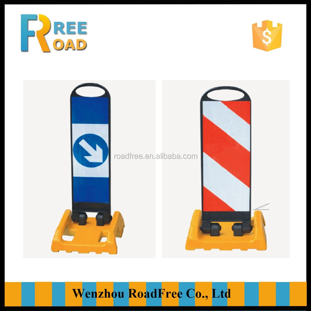 80cm Reflective flexible Warning road Safety Delineator board