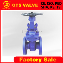 GV-SY-105 PN16 cast iron gate valve from ISO factory WRAS approved