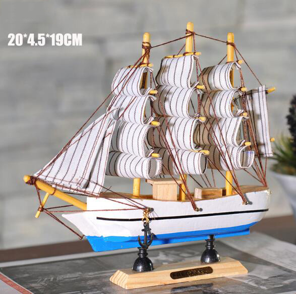 Best selling handmade promotional home decoration le soleil royal wooden ship model