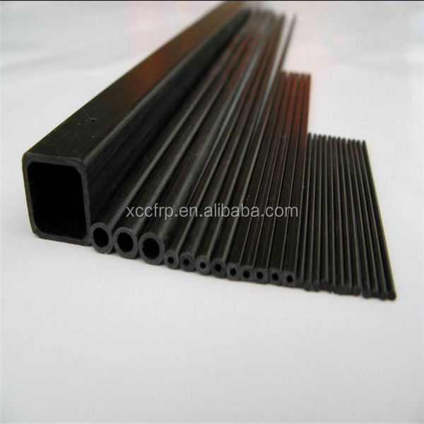 factory price 3K carbon fiber pultrusion tubes carbon pipes
