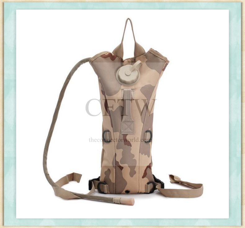 Hydration Pack with 3L Backpack Water Bladder and Adjustable Shoulder Strap for Hunting Climbing Running and Hiking