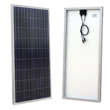 High quality CE ROHS 18v 150w polycrystalline silicon solar cell panel