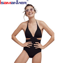 Wholesale factory price sexy high cut one piece swimsuit, young girls mature bikini