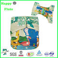 happyflute digital position print nappies reusable washable cloth diapers factory sale