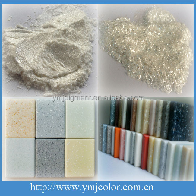 Artificial Marble Colors Crystal Luster Pearl Pigment, Diamond Gold Pearl Pigment
