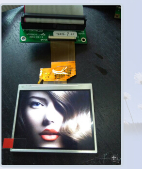 3.5 inch LCD panel/TFT/display,3.5 inch QVGA touch panel with AV input ,MCU interface industrial application