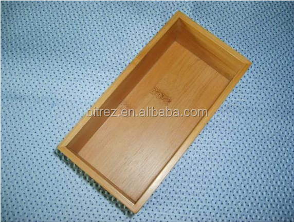 Hardwood Bamboo Cosmetic cases Wooden Jewelry Cigar Box